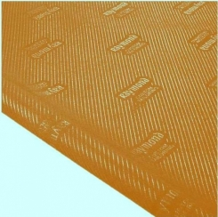 Raymond Embossed Pocketing Fabric in Brown Colour