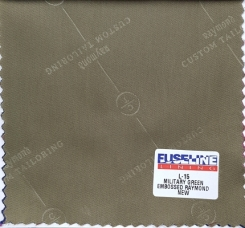 Raymond Embossed Jacket Lining-Military Green