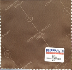 Raymond Embossed Jacket Lining Lt. Brown