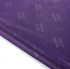 Raymond Embossed Jacket Lining-Dark Purple
