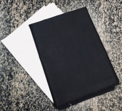 Plain PC Pocketing Fabric in Black