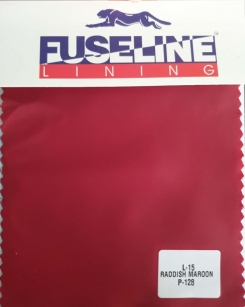 Plain Twill Jacket Lining Reddish Maroon L-15