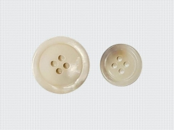 MOP Off White Ring Buttons for Jacket