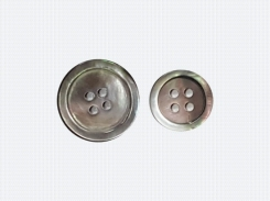 MOP Grey Ring Buttons for Jacket