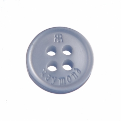 RR-103-16 L Raymond Shirt Button Light Sky  Blue with Double R logo