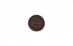 Jacket / Trouser buttons 24L size Dark Brown