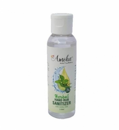 Sanitizer - Amoha Natural Herbal Hand Rub Sanitizer