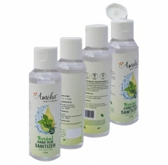Combo pack of Sanitizer - Amoha Natural Herbal Hand Rub Sanitizer
